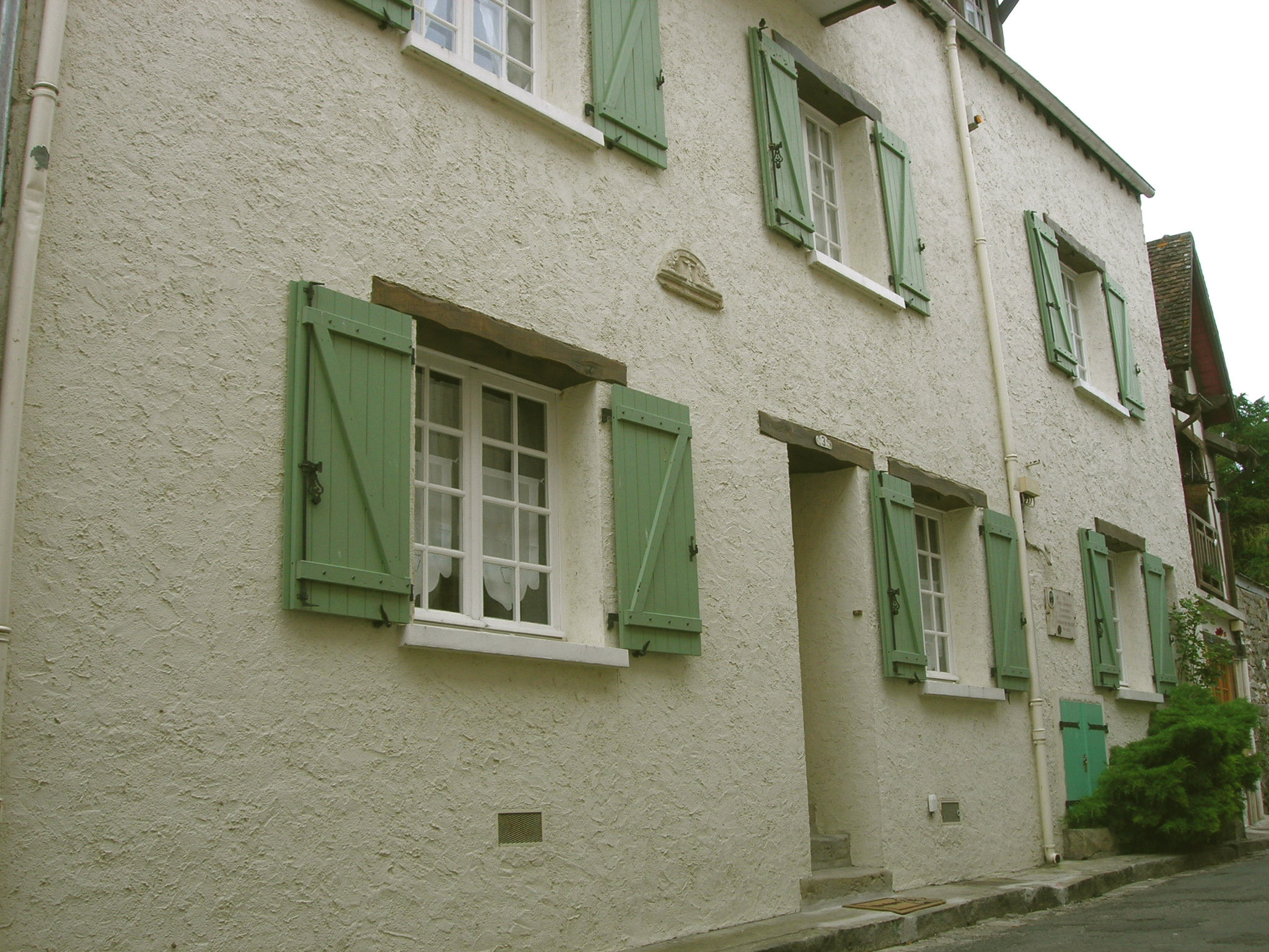 Django´s House in Samois sur Seine, France